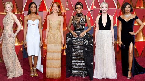 best oscar oscars 2017 the best of the carpet