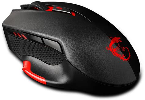 Mouse Gaming Msi msi interceptor ds300 gaming mouse black lazada co th