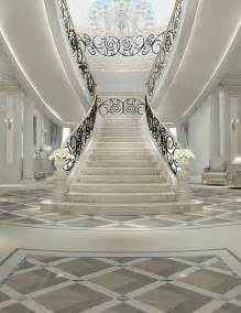 Grand Stairs Design Luxury Interior Design For Grand Staircase By Ions Design Www Ionsdesign Luxury Entrance