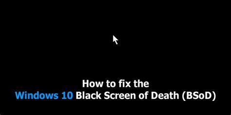 fix black screen of for windows 10 8 7 vista xp
