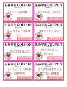 Cute coupons cute love coupons quotes