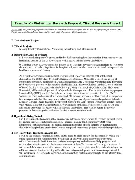 2018 Research Proposal Sle Fillable Printable Pdf Forms Handypdf Source Documents For Clinical Trials Template