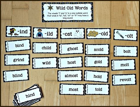 Wild Old Words Phonics Bundle   Make Take & Teach