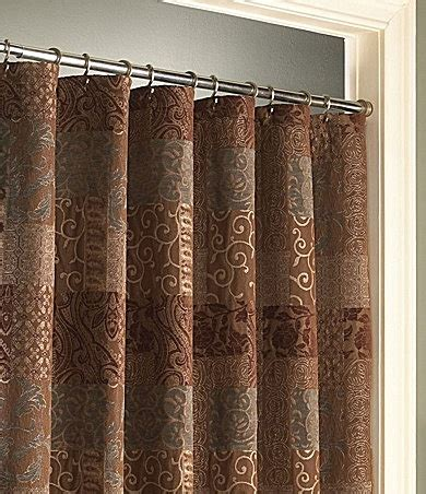 Dillards Shower Curtains by Croscill Quot Galleria Quot Brown Shower Curtain Dillards