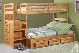 wood bunk beds for sale bunk bed with stairs solid wood brand new for sale