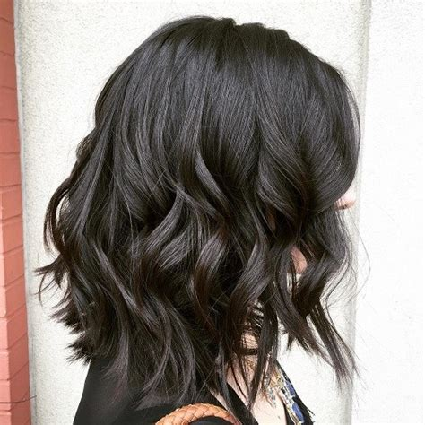 medium length wash and go haircut wash and wear hairstyles for wavy hair
