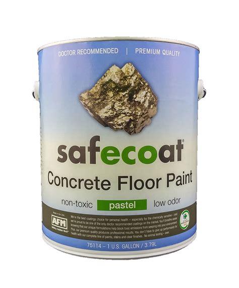 3 low toxicity paints afm safecoat deckote concrete floor paint low odor
