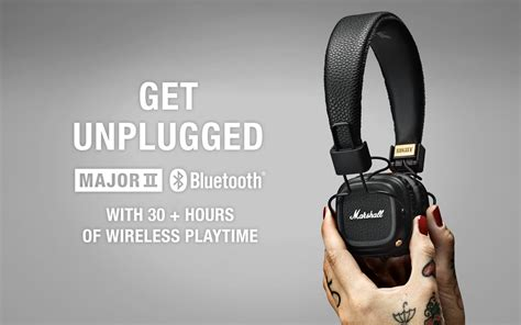 Marshall Headphones Hitam jual marshall major ii bluetooth warna hitam