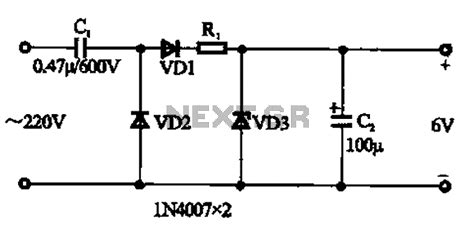 of capacitor in dc circuit gt power supplies gt capacitor step dc power supply circuit l59806 next gr