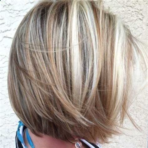 short hair blonde and brown colors hair color for short hair the best short hairstyles for