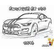 Fierce Car Coloring Ford Cars Free Mustangs T Bird