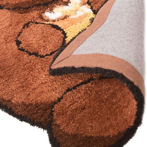 soft rug for nursery childrens soft plush animal nursery rug for kid s bedroom playroom ebay
