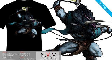 Kaos T Shirt Dota 13 spirit kaos dota animated hitam dan abu abu