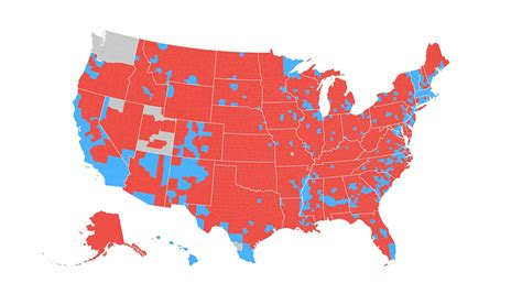 us voting map by county how the election unfolded usa today