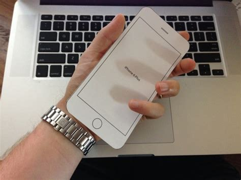 How To Make A Phone Out Of Paper - how big is the iphone 6 plus find out with our handy