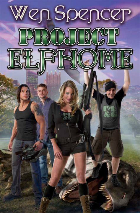 project elfhome book by wen spencer official publisher