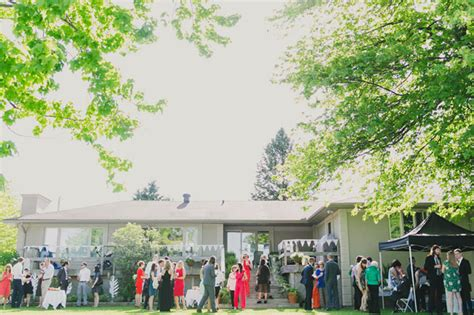 backyard wedding toronto modern toronto backyard wedding jac adrian green