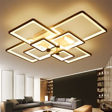 New Ceiling Lights New Modern by Aliexpress Buy New Square Rings Designer Modern Led