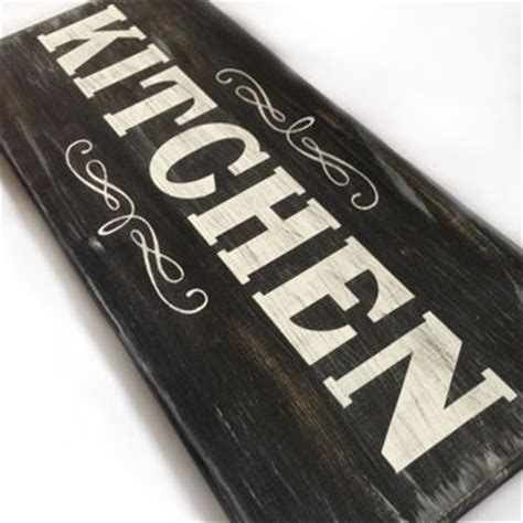 decorative home sign quot kitchen quot chalkboard from