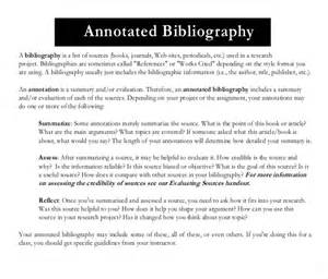 annotated bibliography template annotated bibliography templates 10 free word pdf