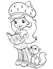 strawberry shortcake 39 coloringcolor