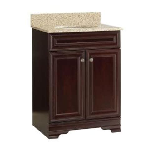 Home Depot Vanities With Granite Tops by Home Decorators Collection Grafton 25 In Vanity In