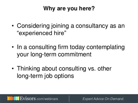 Post Mba Consulting Vs Investment Banking by A Consulting Career The Bad And Focused On