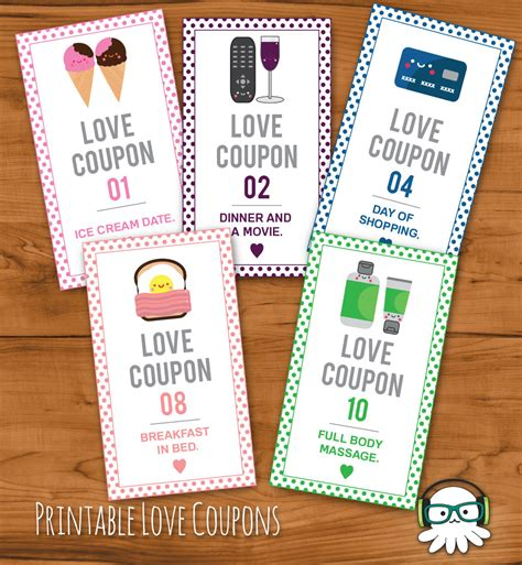 printable romantic love coupons printable romantic love coupons instant download valentines