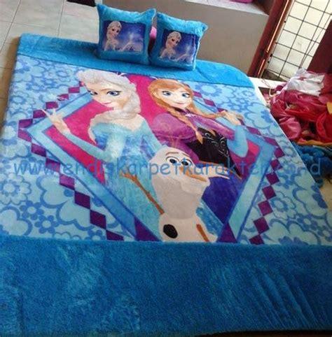 Karpet Karakter Frozen Fullset kasur karpet karakter frozen endis karpet karakter