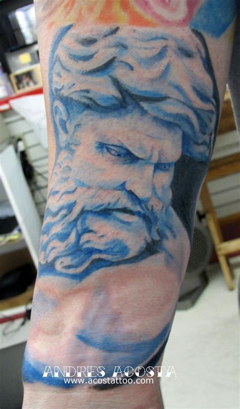 andr 233 s acosta poseidon tattoo nautical tattoo