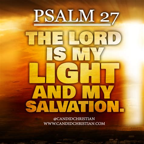 the lord is my light and my salvation bible candid christian