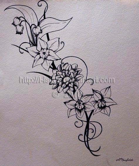 june flower tattoo 25 best ideas about november birth flowers on