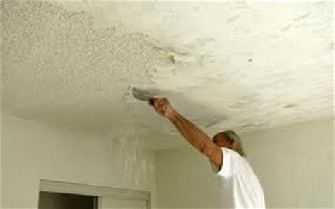 Scrape Ceiling by How To Remove A Popcorn Ceiling Home Inspector Tells You How