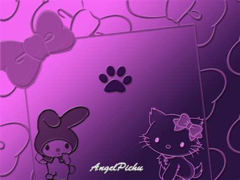 wallpaper hello kitty violet purple hello kitty wallpaper wallpapersafari