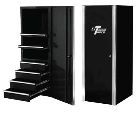 Tool Box Side Cabinet Black by 96 Quot W 17 Drawer Professional Tool Box