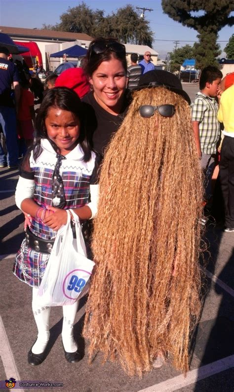 addams family cousin  costume coolest diy costumes