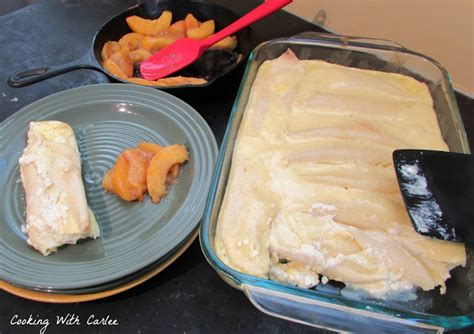 Cottage Cheese Custard by Cooking With Carlee Cottage Cheese Stuffed Crepes For La