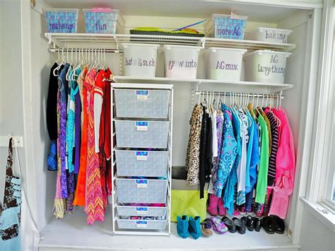 Organizing Shirts In Closet by 10 Ways To Organize Your Kid S Closet Hgtv