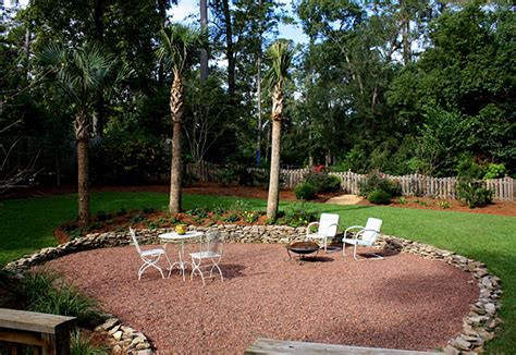 backyard gravel landscaping triyae com sand backyard maintenance various design