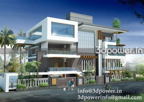 bungalow villa 3d animation 3d rendering 3d walkthrough 3d interior