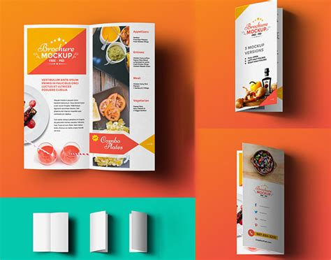 brochure template psd free 20 free catalog brochure mockup templates in psd