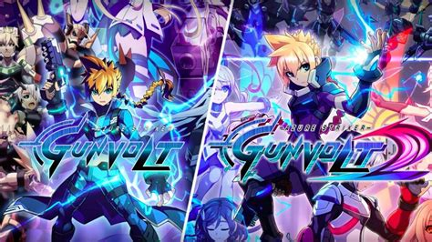 Kaset Nintendo Switch Azure Striker Gunvolt Striker Pack inti creates bringing mighty gunvolt burst and azure striker gunvolt striker pack to two u s