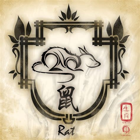 year of the rat tattoo designs 42 best images about zodiac rat on