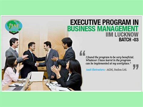 Iim Kozhikode Executive Mba Eligibility by Iim Lucknow Launches Executive Program In Business