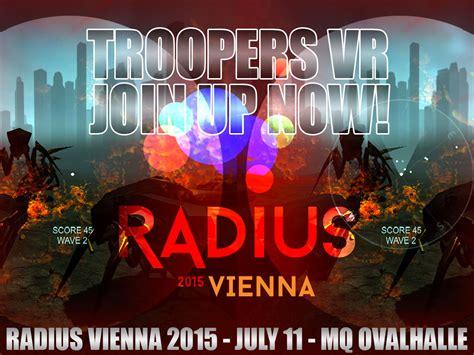 festival vienna troopers vr at radius festival vienna 2015 news mod db