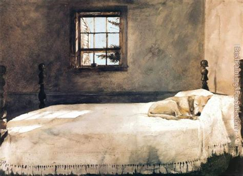 famous bedroom painting literature fool andrew wyeth understands winter