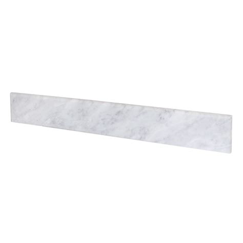 carrara marble backsplash carrara marble bathroom vanity backsplashes trails