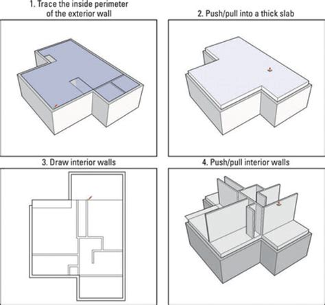 how to create a floor plan in sketchup the best 28 images of how to create a floor plan in