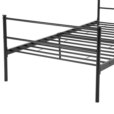 full size metal platform bed frame twin full queen size metal bed frame platform headboards 6