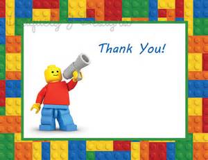 lego thank you cards instant by uniquelyjdesigns on etsy